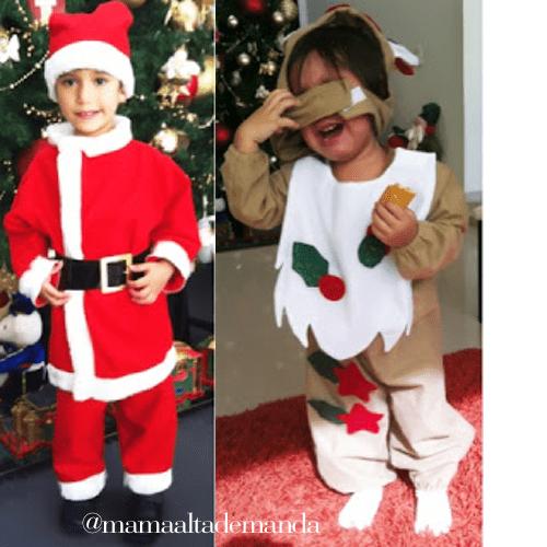 Trajes navide os para ni os - Disfraces para ninos de navidad ...