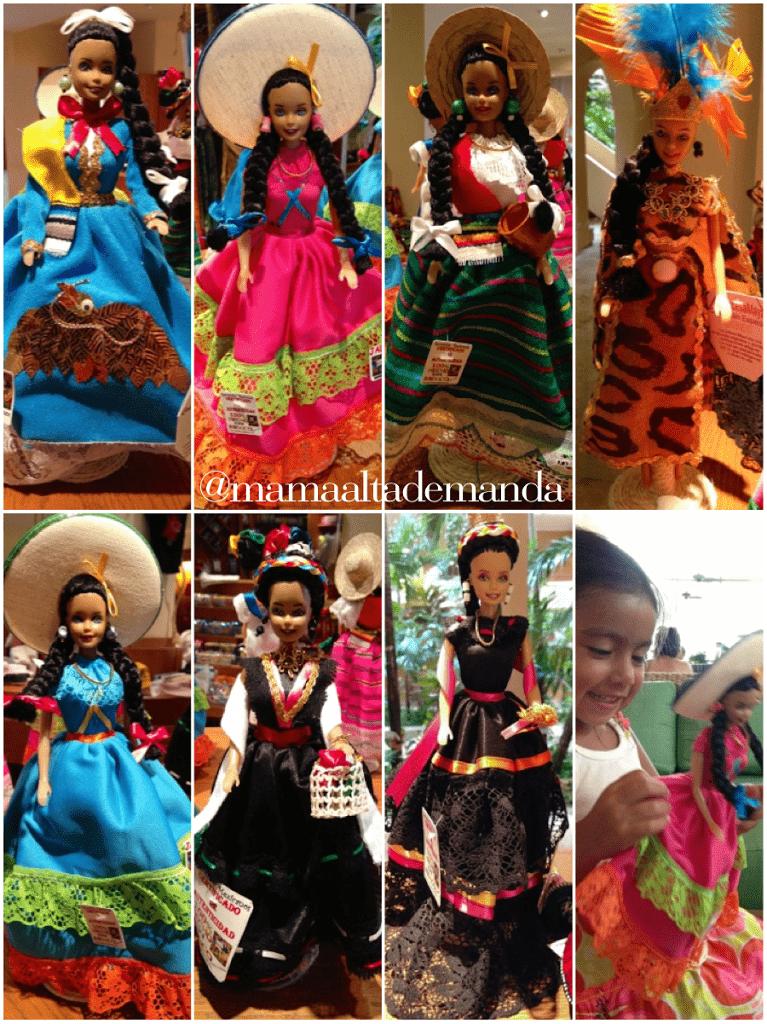 Barbie Con Trajes Regionales Mexicanos