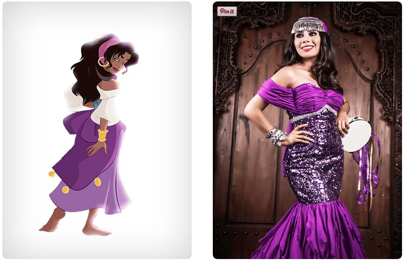 ¿Como se verían las princesas Disney si fueran mexicanas?