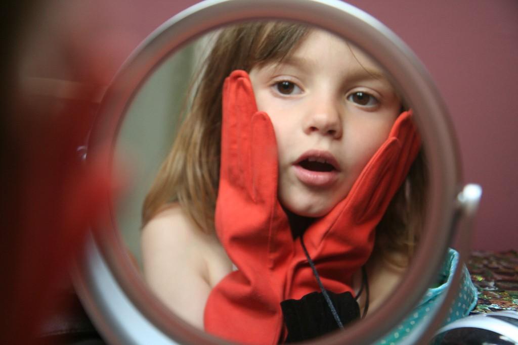 niña-espejo
