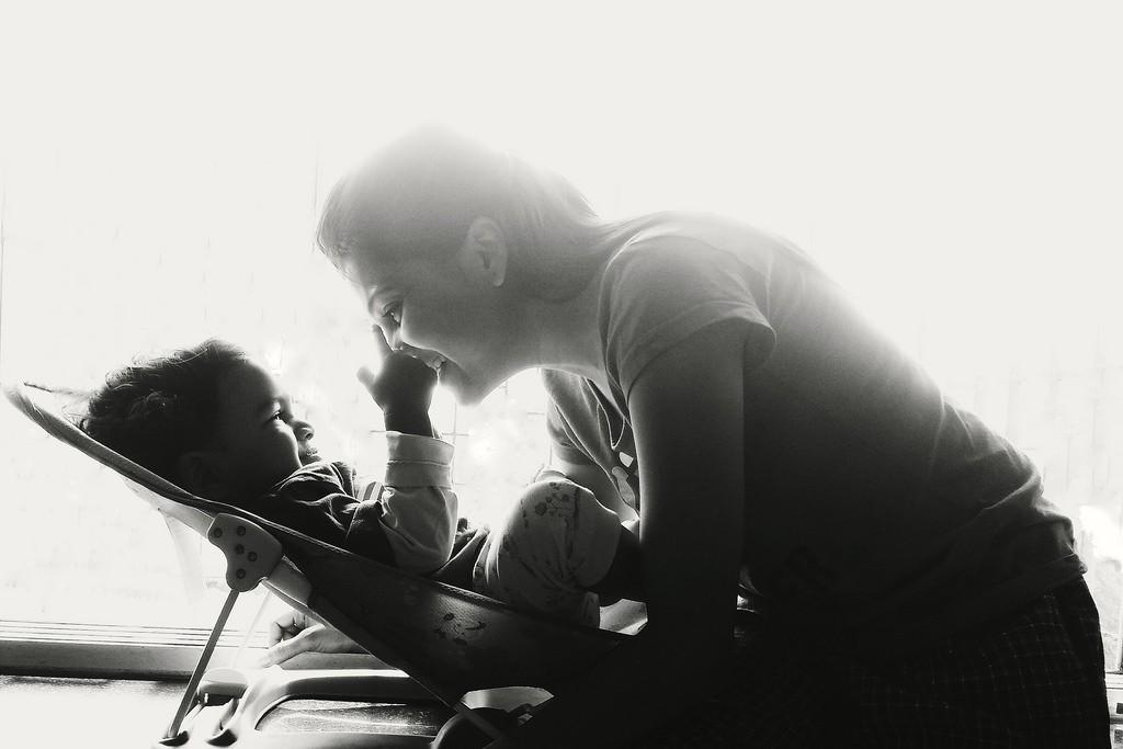 bebé-mamá